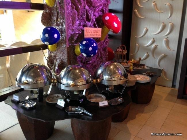 rasa sayang resort breakfast buffet for kids