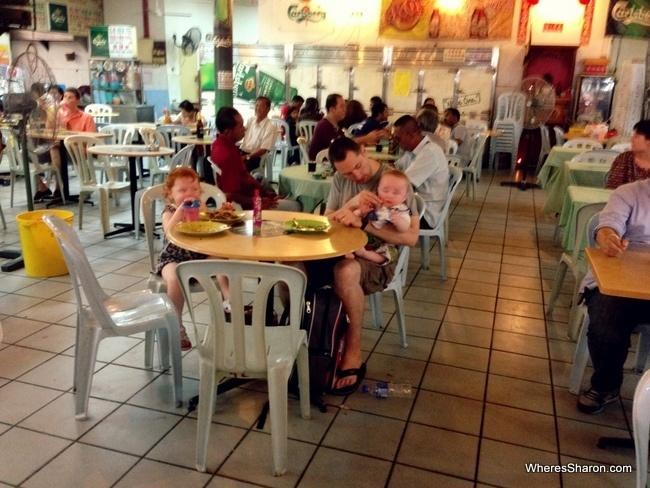 Chinatown hawker centre kl