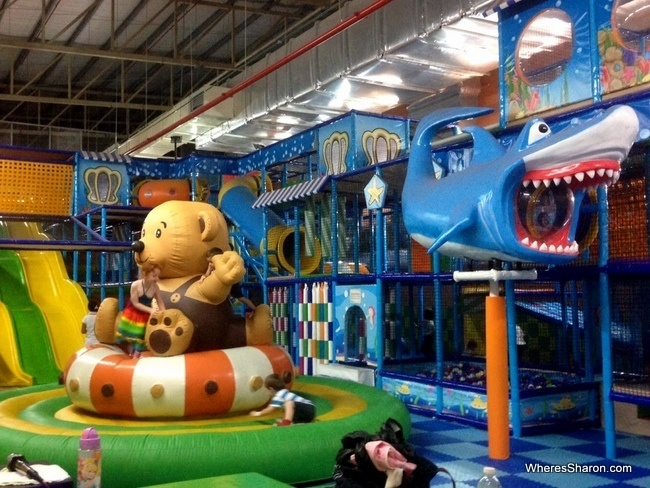 Mega Kiddies World in Queensbay Mall
