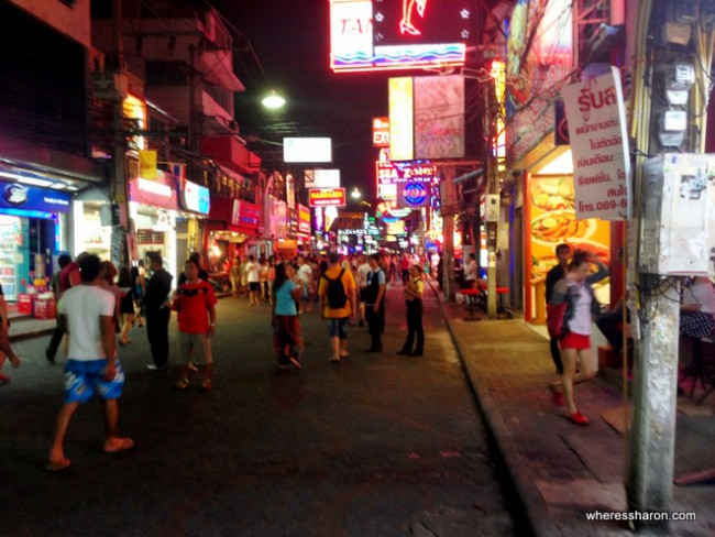 where to go pattaya walking street pattaya attractions for adults