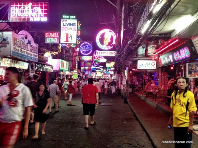 what to do in pattaya thailand Walking Street Pattaya