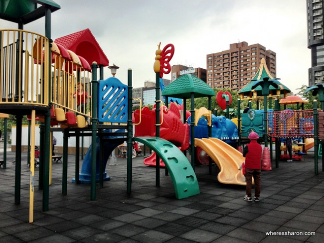 Daan Park Taipei for kids