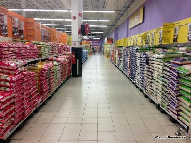 rice in penang supermarket