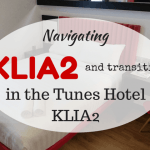Navigating KLIA2, the Air Asia Premium Red Lounge and staying in the Tune Hotel KLIA2