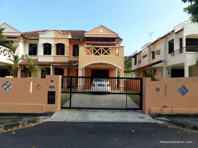 our house in penang