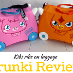 Our Trunki reviews – The best kids ride on suitcase!