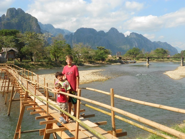 laos family travel destination