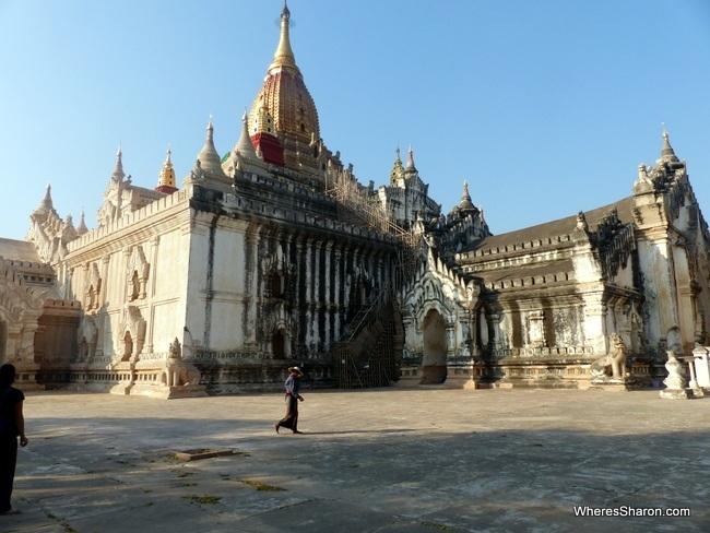 Ananda Pahto in Bagan