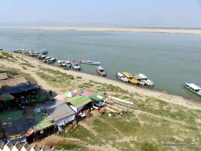 Buphaya river things to do in Bagan