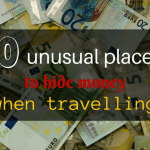 10 unusual places to store money when travelling