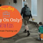 Family Packing List – Carry On Only!