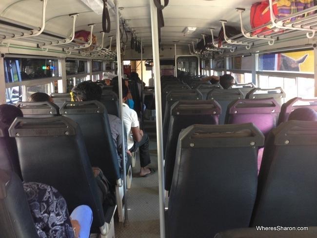 sri lanka bus polonnaruwa to kandy
