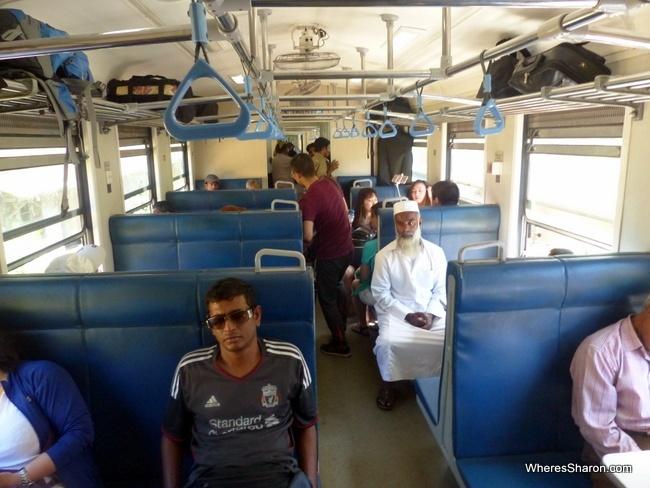 third class train from kandy to nuwara eliya third class