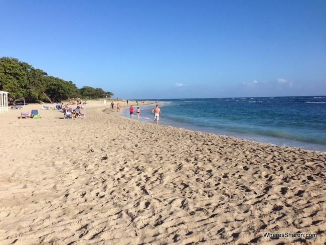 beach at costa dorada