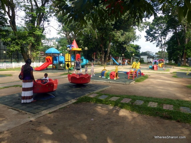 The Playground in Kandy