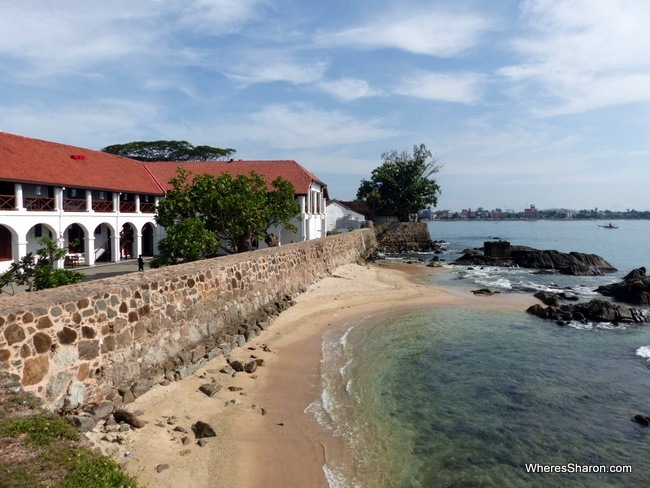 things to do in galle sri lanka walk around the fort walls