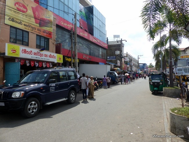 New Town in Galle