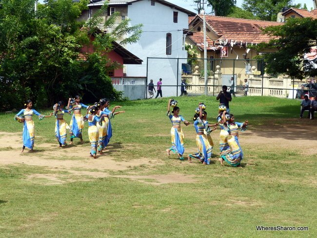 places to visit in Galle with local dancing