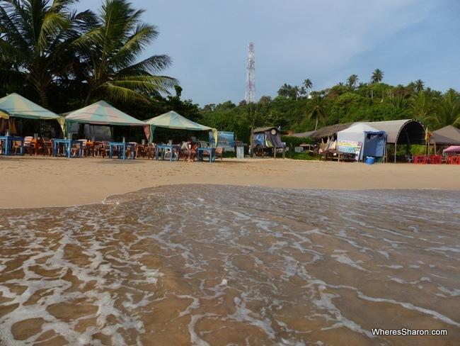 Mirissa Eye restaurant on the beach