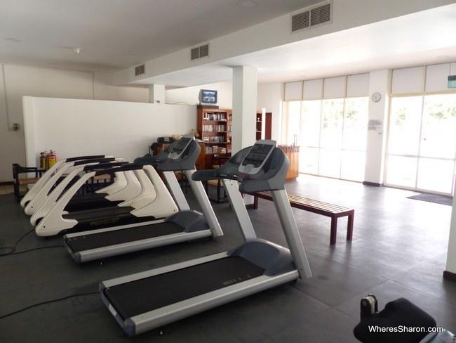 gym at The Sands Sri Lanka