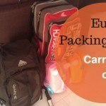 Packing for Europe in Summer: Carry On Only Packing List