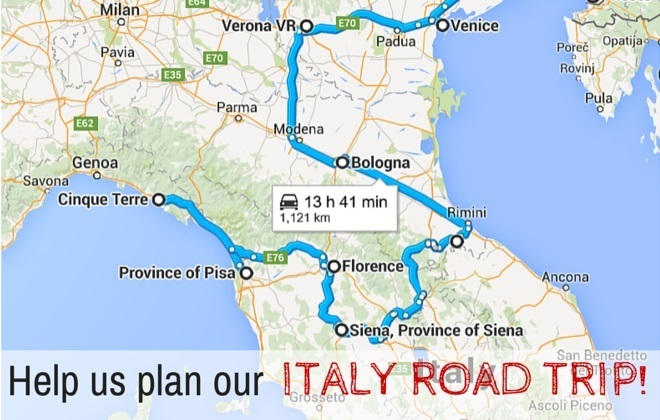 Plan A Road Trip >> Help Us Plan Our Italy Road Trip Family Travel Blog