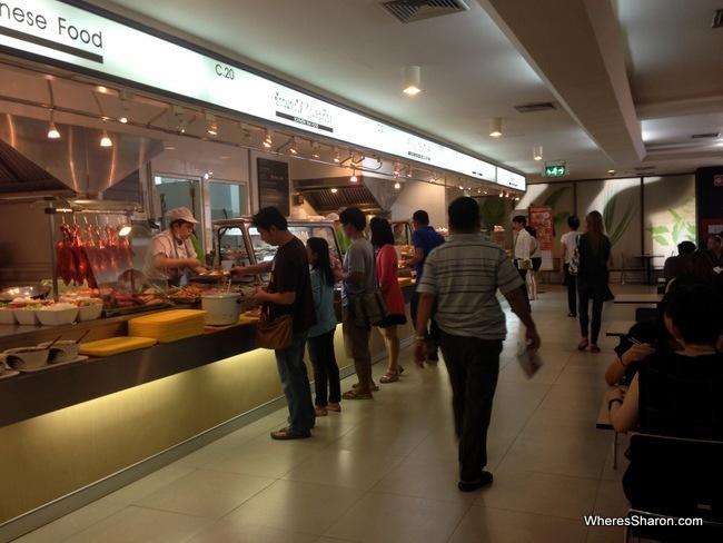 mbk center food court