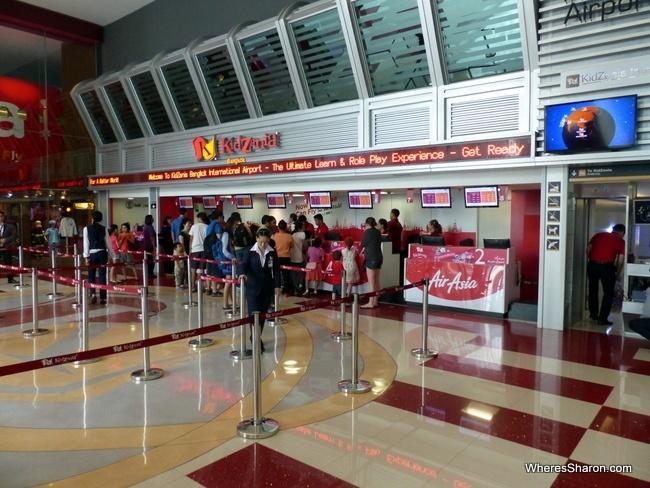 KidZania Bangkok check in