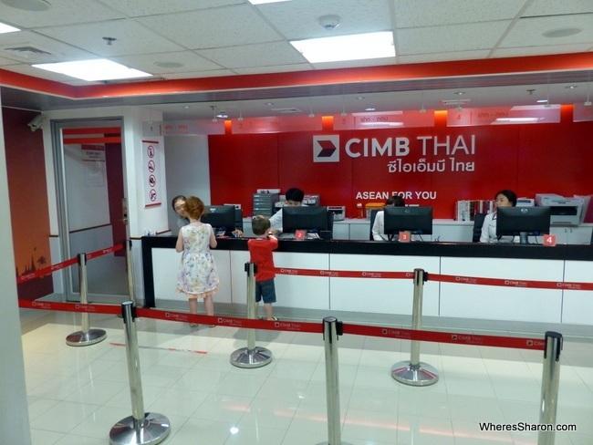 KidZania Bangkok bank