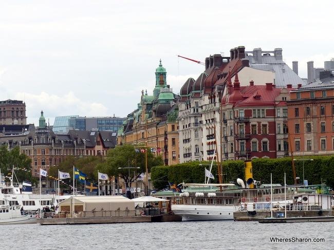 stockholm in sweden travel blog