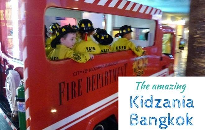 The amazing kidzania bangkok
