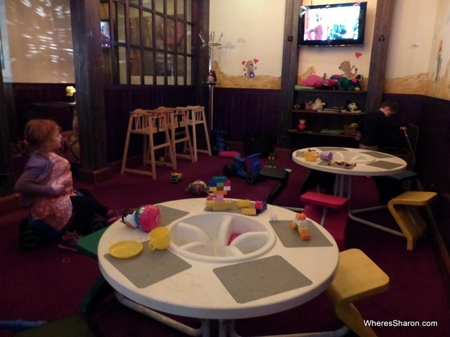 playroom at original hotel sokos viru