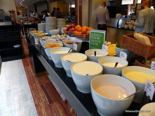 scandic sergel plaza breakfast