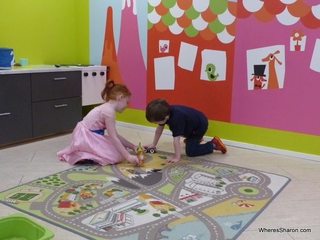 scandic sergel plaza playroom
