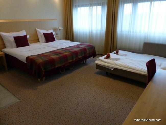 sokos hotel pasila room