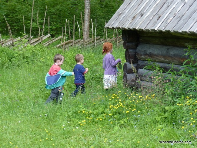 Tallinn with kids at the Estonian Open Air Museum