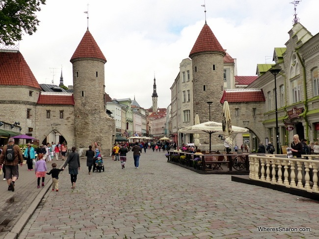 the gates to Tallinn things to do