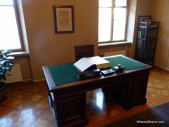 History happened here: where Lithuania's Act of Independence was signed.