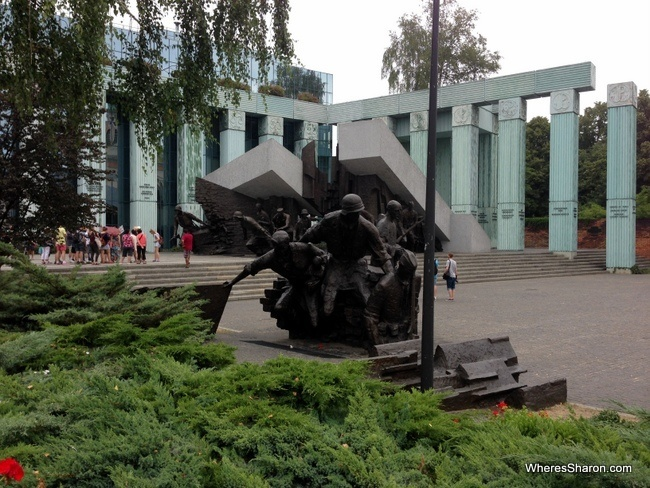 Monument to the Warsaw Rising