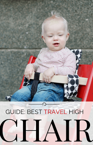 guide to the best travel high chair
