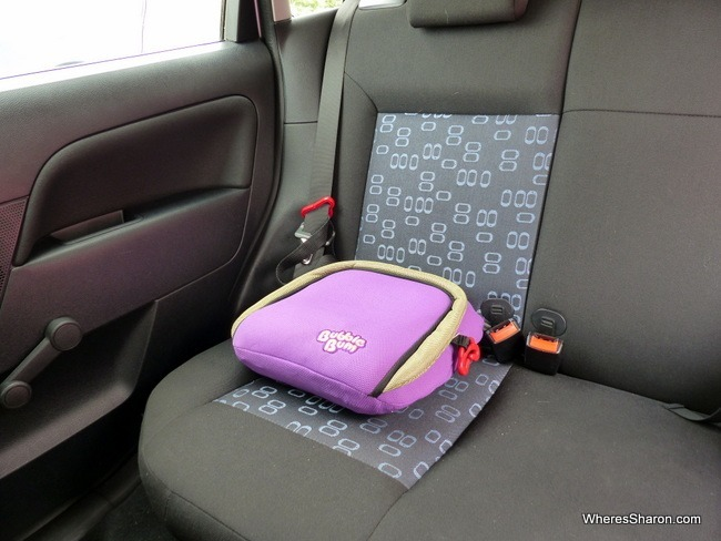 Travel Essentials Our Bubblebum Booster Seat Review