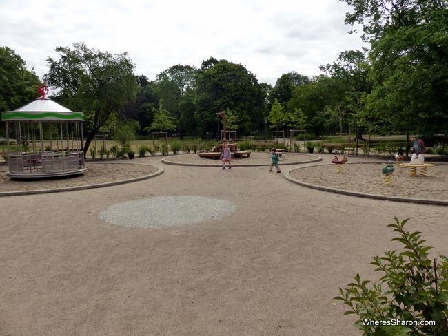 Krasinski Gardens playground Warsaw