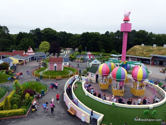 Peppa Pig World from Miss Rabbit's Helicopter Flight
