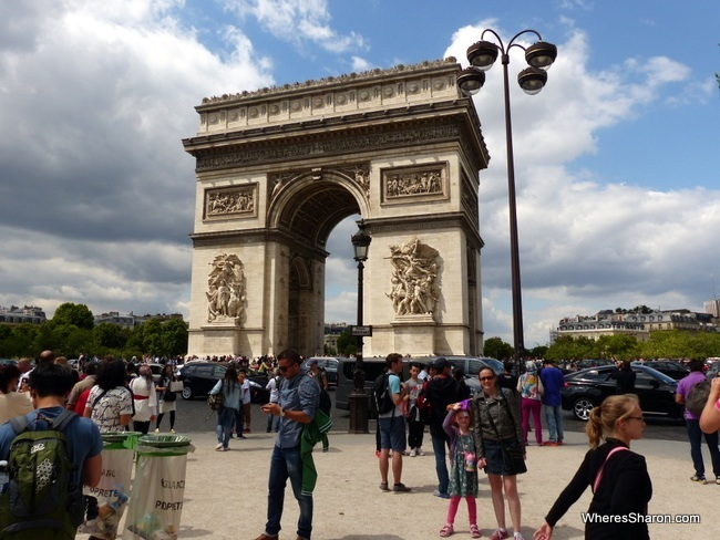 arc de triomphe things to do in paris with kids