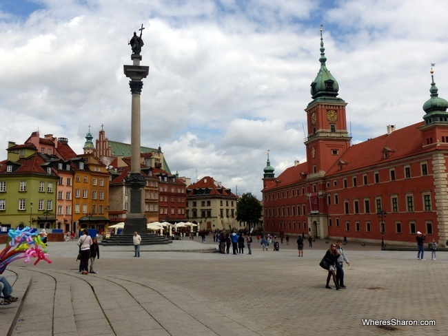 Plac Zamkowy (Castle Square) in Warsaw things to do
