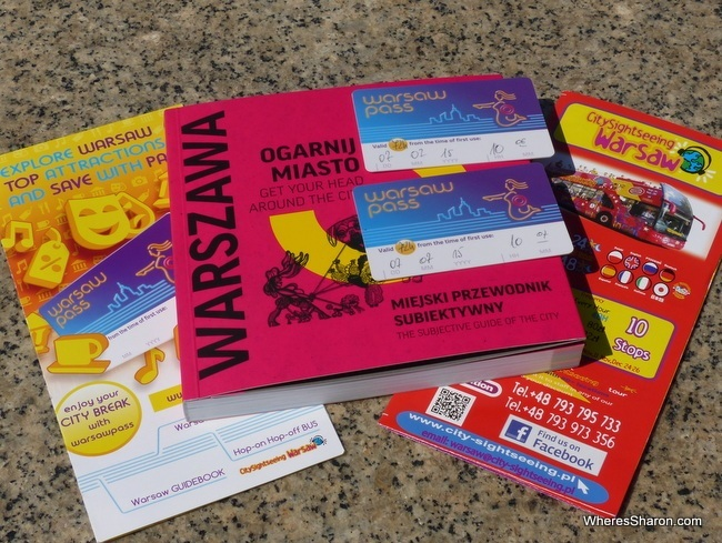 warsaw passes