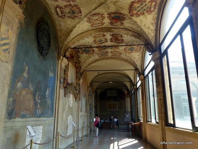 Palazzo dell'Archiginnasio things to do in bologna