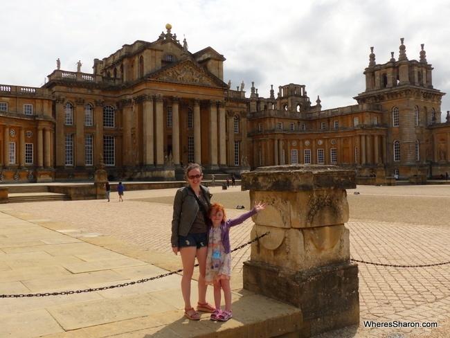 Blenheim Palace in England Travel Blog