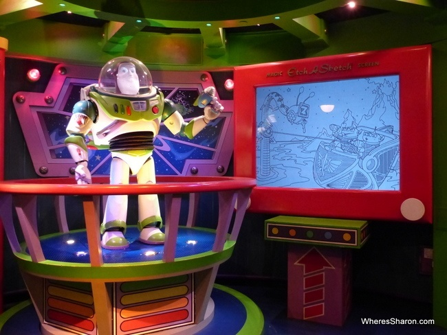 buzz lightyear at Disneyland Paris