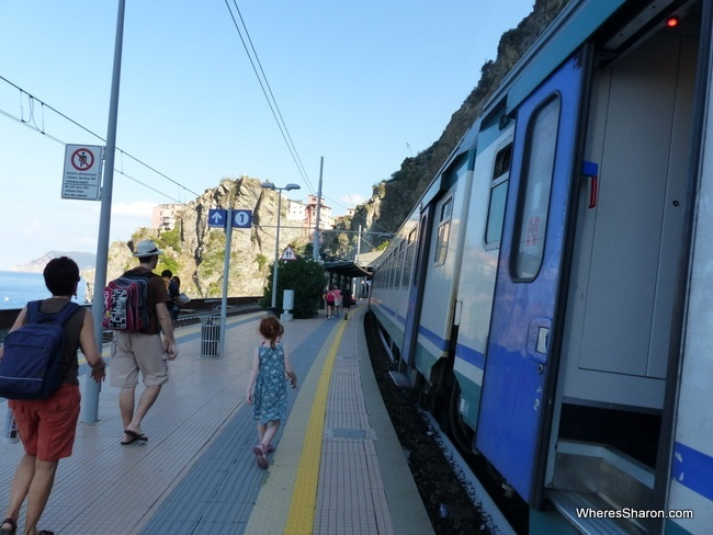 getting around Cinque Terre